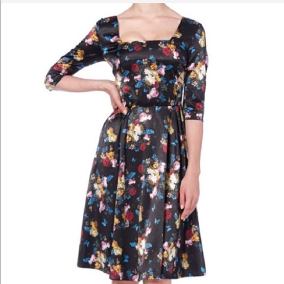 58a217a6fb0be Voodoo Vixen Old Master Flower Dress Size XL